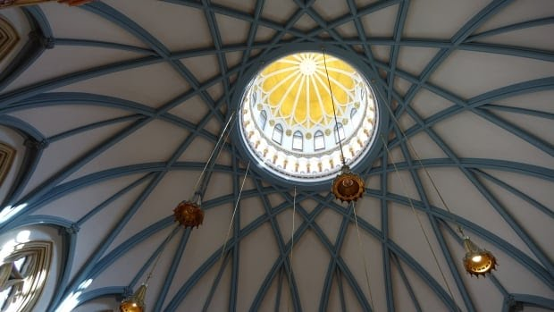 Library of Parliament domed ceiling