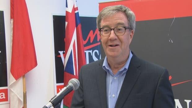 Mayoral incumbent Jim Watson makes tax announcement